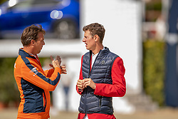Smolders Harrie, Verlooy Harrie<br /> Longines FEI Jumping Nations Cup™ Final<br /> Barcelona 20128<br /> © Hippo Foto - Dirk Caremans<br /> 07/10/2018