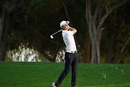 Hootong Li on his way to winning<br /> Omega Dubai Desert Classic 2018<br /> <br /> Golf Pictures Credit by: Mark Newcombe / visionsingolf.com Hootong Li on his way to winning Haotong Li on his way to winning