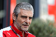 May 20-24, 2015: Monaco Grand Prix - Maurizio Arrivabene, team principal of Scuderia Ferrari