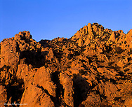Rock outcroppings in the Dragoon mountains in the Coronado National forest of Arizona