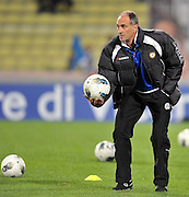 Udine, 29 Aprile 2012.Campionato di calcio Serie A 2011/2012.  35^ giornata. Stadio Friuli..Udinese vs Lazio. .Nella foto: Francesco Guidolin..© foto di Simone Ferraro..ITALY, Udine : Udinese's head coach Francesco Guidolin prior the Italian Serie A football match between Udinese and Lazio on April 29, 2012 at the Friuli Stadium in Udine..© foto di Simone Ferraro