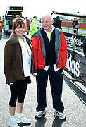 06.MARCH.2011 NORTHAMPTONSHIRE<br /> <br /> LESLEY DUNLOP AND CHRIS CHITTELL RUNS THE SILVERSTONE HALF MARATHON FOR VISION CHARITY ORGANISATION.<br /> <br /> BYLINE: EDBIMAGEARCHIVE.COM<br /> <br /> *THIS IMAGE IS STRICTLY FOR UK NEWSPAPERS AND MAGAZINES ONLY*<br /> *FOR WORLD WIDE SALES AND WEB USE PLEASE CONTACT EDBIMAGEARCHIVE - 0208 954 5968*