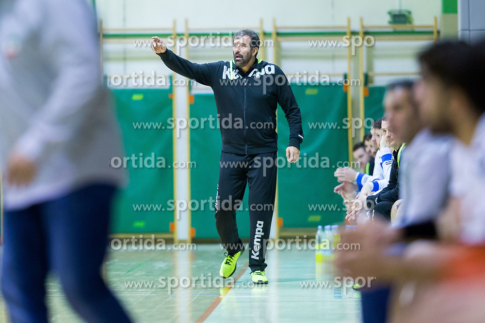 Veselin Vujovic, head coach of Slovenia during Handball friendly match between Slovenia and Iran, on January 4, 2018 in Dol pri Hrastniku, Dol pri Hrastniku, Slovenia. Photo by Ziga Zupan / Sportida