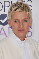 Ellen DeGeneres at The 41st Annual People's Choice Awards - Arrivals held at the Nokia Theatre LA Live in Los Angeles, CA. The event took place on Wednesday, January 7, 2015. Photo by Sthanlee B. Mirador/Shooting Star   *** Please Use Credit from Credit Field ***
