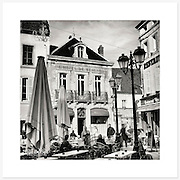 Beaune, Bourgogne, France - Monochrome version. Inkjet pigment print on Canson Infinity Rag Photographique 310gsm 100% cotton museum grade Fine Art and photo paper.<br /> <br /> 8x8&quot; Prints: First print $49. Additional prints in same order $29. (A half inch white border is added for safe handling. Size with border 9x9&rdquo;).<br /> <br /> Frame-Ready Prints: Add $29 per print. Includes mounting on 12x12&rdquo; foam-board, plus white matboard with 8x8&rdquo; photo opening. Suits standard 12x12&rdquo; frames.<br /> <br /> Price includes GST &amp; postage within Australia. <br /> <br /> Order by email to orders@girtbyseaphotography.com  quoting image title or reference number, your contact details, delivery address &amp; preferred payment method (PayPal or Bank Deposit). You will be invoiced by return email. Normally ships within 7 days of payment.