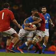 20180311 Rugby Natwest 6 nations : Galles v Italia