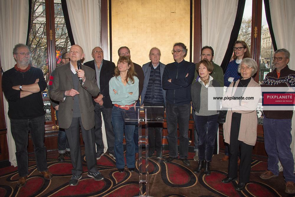 Gilles Jacob et le jury Prix Louis Delluc 2019 Lundi 9 Décembre 2019 Le Fouquet's Paris