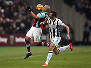 West Ham United v West Bromwich Albion 11th Feb 2017