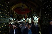 The Spice Bazaar, near the Grand Bazaar.