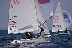 Matías Buehler & Felix Steiger at the 470 Worlds in Denmark Rungsted, Images take the 25.8.09