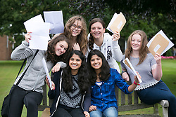 © Licensed to London News Pictures. 20/08/2015. Solihull, West Midlands, UK. GCSE results day at Solihull School. Photo credit : Dave Warren/LNP