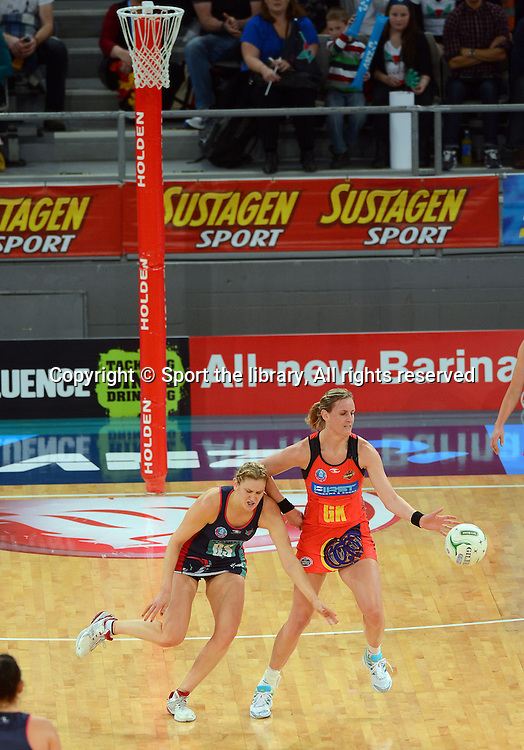 Leana de Bruin - game MVP (Magic)<br /> 2012 ANZ Netball Championships / finals<br /> Melbourne Vixens vs WBOP Magic<br /> Sunday July 22nd 2012 <br /> Hisense Arena/ Melbourne Australia <br /> &copy; Sport the library / Jeff Crow