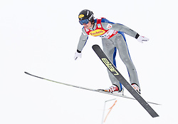 16.12.2011, Casino Arena, Seefeld, AUT, FIS Nordische Kombination, Ski Springen Team HS 109, im Bild Tomaz Druml (AUT) // Tomaz Druml of Austria during Ski jumping the team competition at FIS Nordic Combined World Cup in Sefeld, Austria on 20111211. EXPA Pictures © 2011, PhotoCredit: EXPA/ P.Rinderer