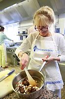 sharon garson's class at cordon bleu cooking school