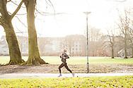 Billeder fra Nike Marathon Test 1 in Fælledparken Copenhagen.