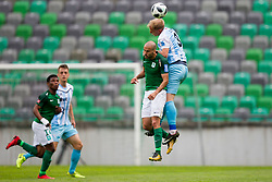Uros Celcer of ND Gorica during football match between NK Olimpija Ljubljana and ND Gorica in Round #29 of Prva liga Telekom Slovenije 2017/18, on April 29, 2018 in SRC Stozice, Ljubljana, Slovenia. Photo by Urban Urbanc / Sportida