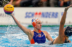 Maud Megens #2of Netherlands in action during the friendly match Netherlands vs USA on February 19, 2020 in Amerena Amersfoort.