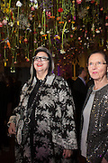 LEILA WITKIN; COLLEEN WITKIN, Fashion and Gardens, The Garden Museum, Lambeth Palace Rd. SE!. 6 February 2014.