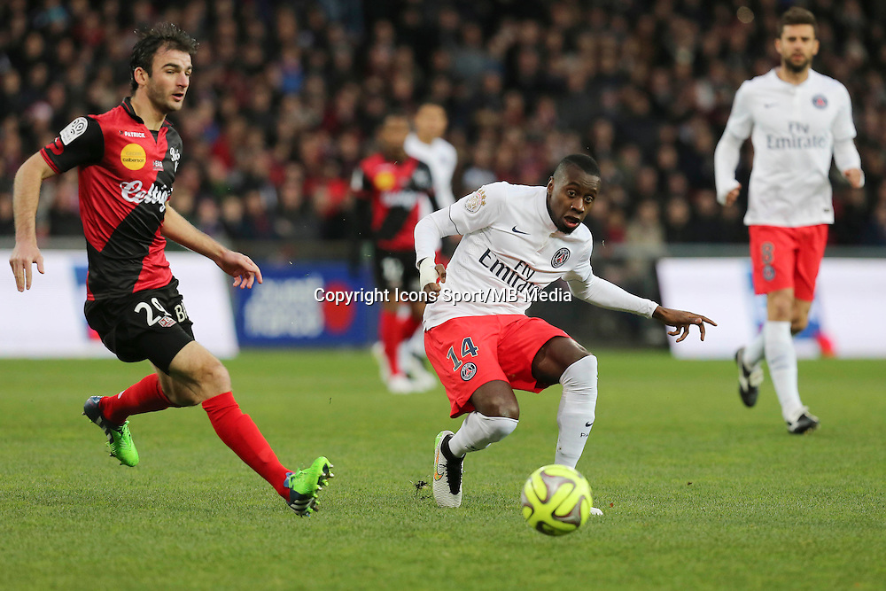 Blaise MATUIDI - 14.12.2014 - Guingamp / Paris Saint Germain - 18eme journee de Ligue 1<br />Photo : Vincent Michel / Icon Sport