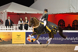 Vilhelmson Silfven Tinne (SWE) - Favourit<br /> World Dressage Masters Wellington 2012<br /> © Hippo Foto - Cealy Tetly