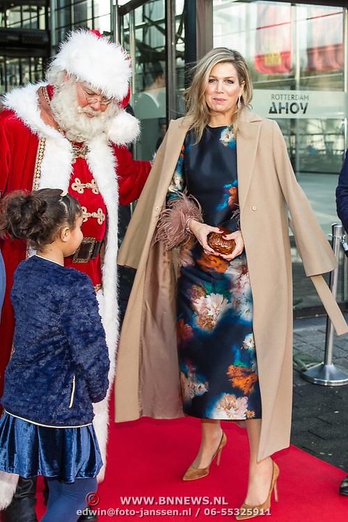 NLD/Rotterdam/20171214 - Maxima bij Kerst Muziek gala 2017, Koningin Maxima