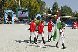 Team Hungary<br /> FEI European Jumping Championship -  2011<br /> (c) www.sportfotos-Lafrentz. de/Stefan Lafrentz