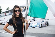October 1-3, 2014 : Lamborghini Super Trofeo at Road Atlanta. Lamborghini grid girl