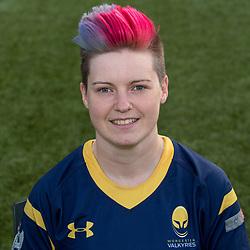 Sarah Davey of Worcester Valkyries - Mandatory by-line: Robbie Stephenson/JMP - 14/09/2017 - RUGBY - Sixways Stadium - Worcester, England - Worcester Valkyries Headshots