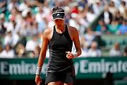 Garbine MUGURUZA (ESP) during the Roland Garros French Tennis Open 2018, day 12, on June 7, 2018, at the Roland Garros Stadium in Paris, France - Photo Stephane Allaman / ProSportsImages / DPPI
