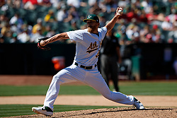 OAKLAND, CA - AUGUST 04:  Jake Diekman #35 of the Oakland Athletics pitches against the St. Louis Cardinals during the eighth inning at the RingCentral Coliseum on August 4, 2019 in Oakland, California. The Oakland Athletics defeated the St. Louis Cardinals 4-2. (Photo by Jason O. Watson/Getty Images) *** Local Caption *** Jake Diekman