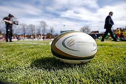 Greene King IPA Championship match ball - Mandatory byline: Rogan Thomson/JMP - 01/05/2016 - RUGBY UNION - Goldington Road - Bedford, England - Bedford Blues v Bristol Rugby - Greene King IPA Championship Play Off Semi Final 1st Leg.