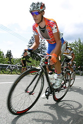 Demarin Massimo (CRO) of Loborika Favorit Team during 3nd Stage (170,6 km) at 18th Tour de Slovenie 2011, on June 18, 2011, in Slovenia. (Photo by Urban Urbanc / Sportida)