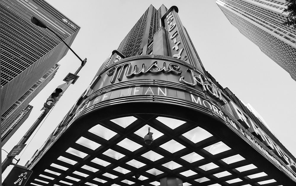 Radio city music hall NYC 2009