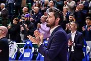 Gianmarco Pozzecco, Tributo Kobe Bryant<br /> Banco di Sardegna Dinamo Sassari - Unet Hapoel Holon<br /> FIBA BCL Basketball Champions League 2019-20<br /> Sassari, 28/01/2020<br /> Foto L.Canu / Ciamillo-Castoria