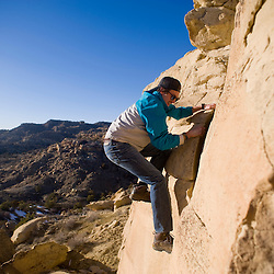 Rock scramble adventure on Gallup's north side
