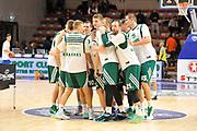 DESCRIZIONE : Eurolega Euroleague 2014/15 Gir.A Dinamo Banco di Sardegna Sassari - Zalgiris Kaunas<br /> GIOCATORE : Zalgiris Kaunas<br /> CATEGORIA : Before Pregame <br /> SQUADRA : Zalgiris Kaunas<br /> EVENTO : Eurolega Euroleague 2014/2015<br /> GARA : Dinamo Banco di Sardegna Sassari - Zalgiris Kaunas<br /> DATA : 14/11/2014<br /> SPORT : Pallacanestro <br /> AUTORE : Agenzia Ciamillo-Castoria / Claudio Atzori<br /> Galleria : Eurolega Euroleague 2014/2015<br /> Fotonotizia : Eurolega Euroleague 2014/15 Gir.A Dinamo Banco di Sardegna Sassari - Zalgiris Kaunas<br /> Predefinita :AUTORE : Agenzia Ciamillo-Castoria/C.Atzori