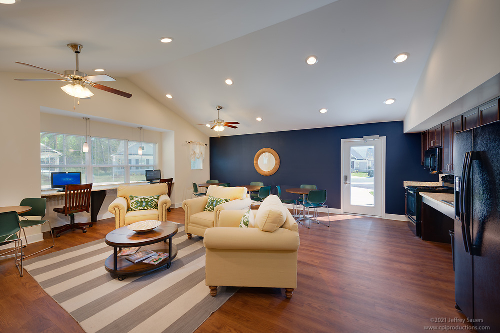 Interior photo of the Cannery Village Rental Home Community in Berlin MD by Jeffrey Sauers of Commercial Photographics, Architectural Photo Artistry in Washington DC, Virginia to Florida and PA to New England