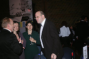 Mark Lawson. 2004 Whitbread Book Awards. The Brewery, Chswell st. London EC1. 25 January 2005. ONE TIME USE ONLY - DO NOT ARCHIVE  © Copyright Photograph by Dafydd Jones 66 Stockwell Park Rd. London SW9 0DA Tel 020 7733 0108 www.dafjones.com