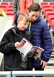 Spectators at the Sky Bet Championship match between Bristol City and Burton Albion - Mandatory by-line: Paul Knight/JMP - 04/03/2017 - FOOTBALL - Ashton Gate - Bristol, England - Bristol City v Burton Albion - Sky Bet Championship