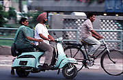 The daily commute,New Delhi, India ©Ed Hille / Picturedesk.Net.ONE TIME USE ONLY