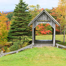 The Foster Covered Bridge in Cabot, Vermont.