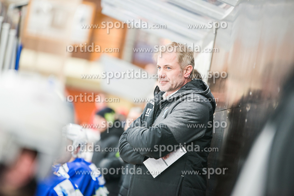 Ivo Jan during Ice Hockey match between National teams of Slovenia and Belarus at International tournament Euro ice hockey Challenge 2019, on February 9, 2019 in Ice Arena Bled, Slovenia. Photo by Peter Podobnik / Sportida