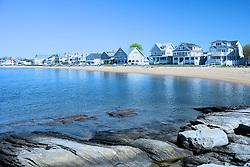 Beach Scene, Madison, Connecticut
