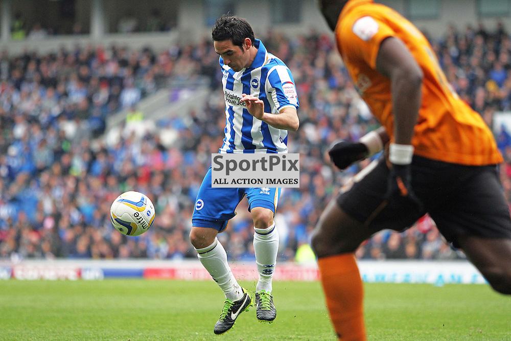 Brighton's Vicente Rodriguez controls the ball (c) Phil Duncan | StockPix.eu