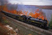 Historic Steam Engine Train, Steamtown, Scranton. Pennsylvania