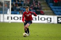 Fotball, 28. april 2004, Privatlandskamp, Norge-Russland 3-2, Ole Gunnar Solskjaer, Norge, Ole Gunnar Solskjær