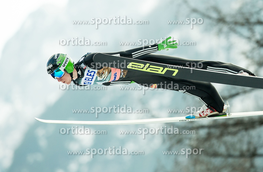 Nejc Dezman of Slovenia during the Ski Flying Individual Competition at Day 2 of FIS World Cup Ski Jumping Final, on March 20, 2015 in Planica, Slovenia. Photo by Vid Ponikvar / Sportida