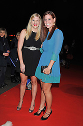 Left to right, Olympic Gold medal swimmer REBECCA ADLINGTON and Olympic swimmer JOANNE JACKSON at the Battersea Dogs & Cats Home Collars & Coats Gala Ball held at Battersea Evolution, Battersea Park, London SW8 on 8th November 2012.