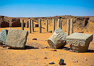 Ruins of the Church of the Granite Columns, Old Dongola, Sudan.
