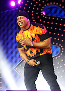 LL Cool J appears during the Lip Sync Battle Live at SummerStage in Rumsey Playfield Central Park in New York City, New York on July 13, 2015.
